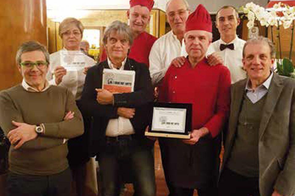 """Il ristorante """"La Torre"""" di Monselice vince il premio """"Cucina Identità del Territorio"""""""