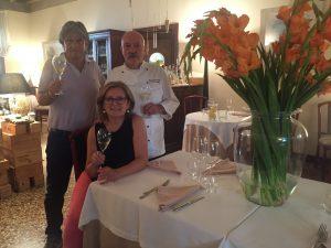 Hostaria San Benedetto, Gianni Rugolotto e Laura Borghesan