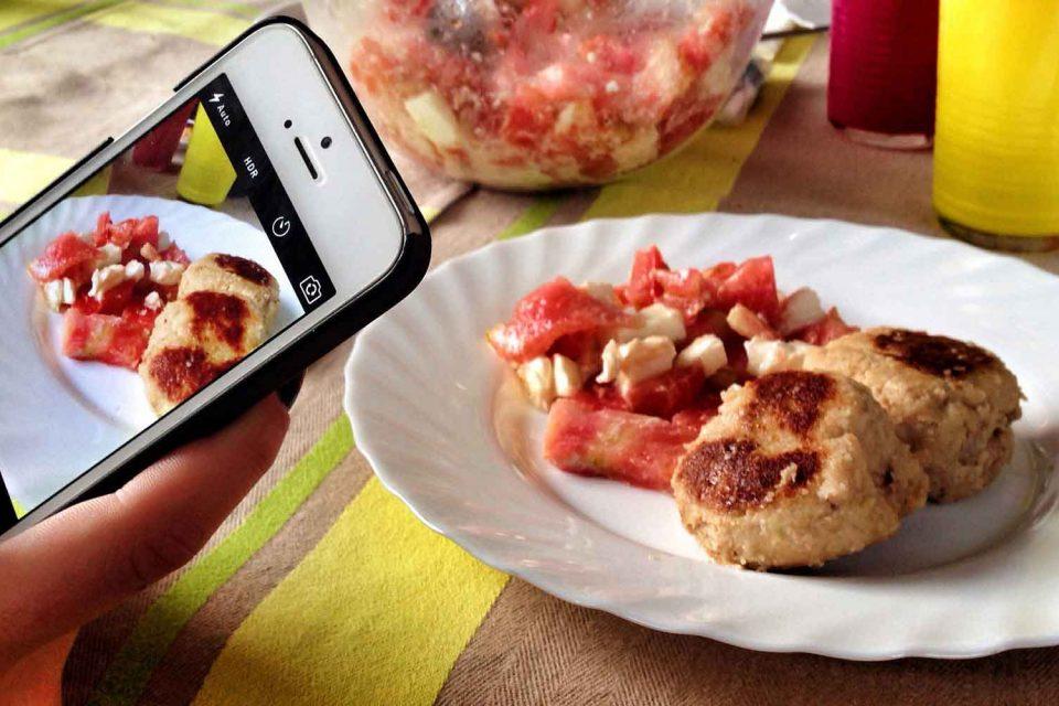 Fotografare il cibo, non è una moda di oggi