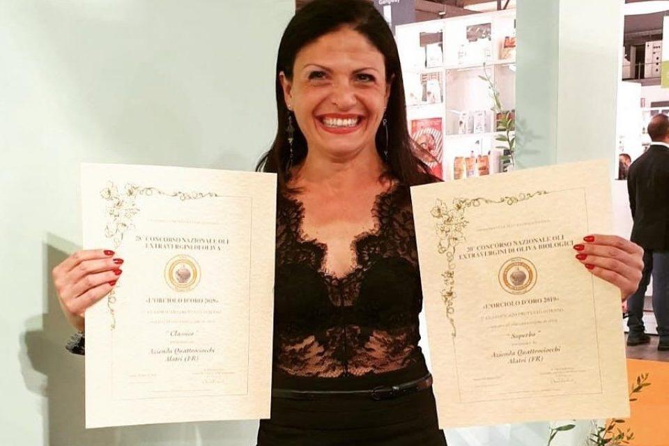 Monica Vaccarella, il suo extravergine ha conquistato Dubai