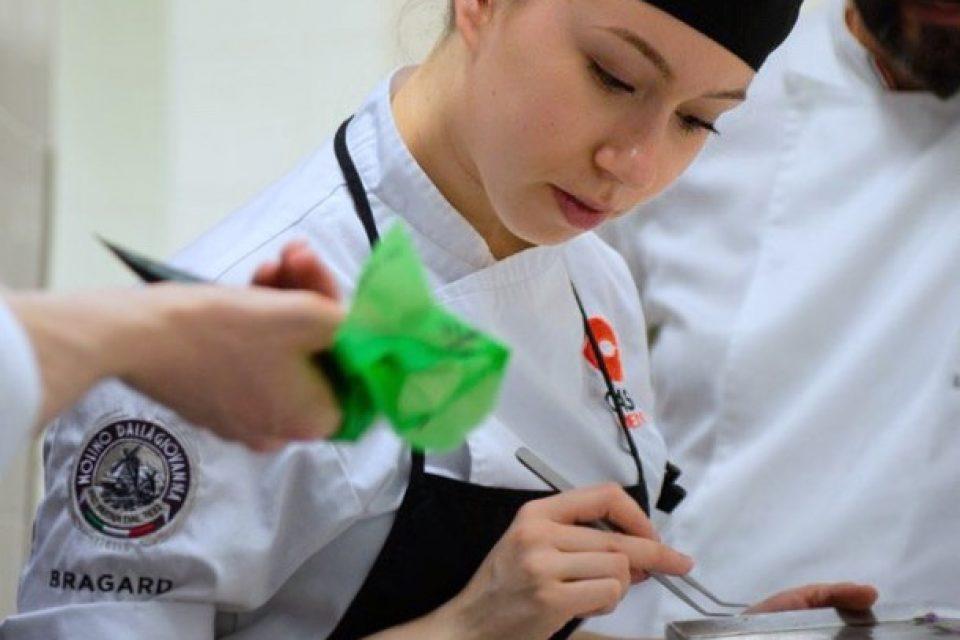 Michela Ruzza, giovane chef pâtissier partita dal Polesine
