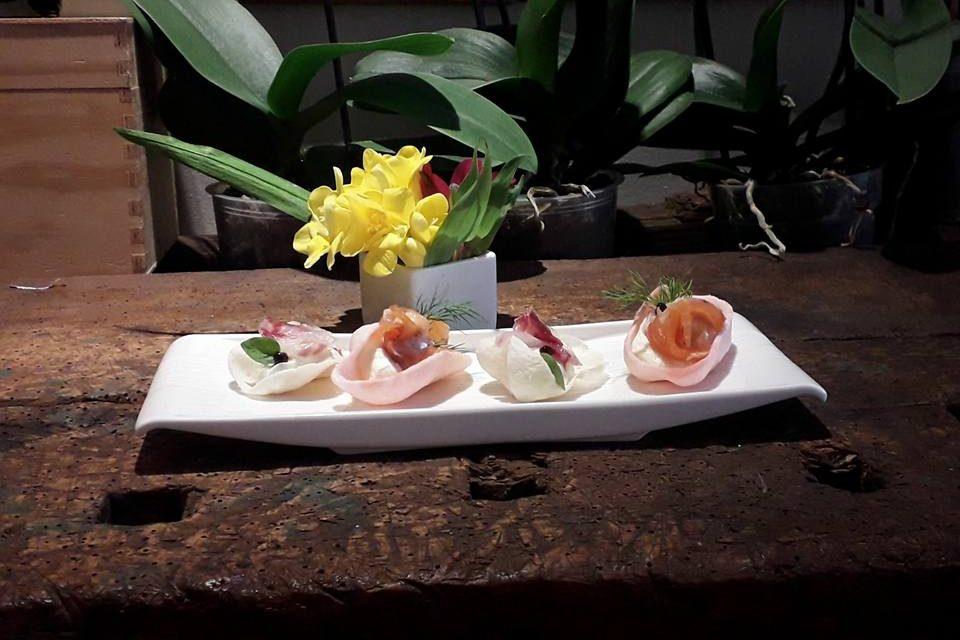 Al ristorante Le Strie, tutta la fantasia, i sapori e l'eleganza dell'estate