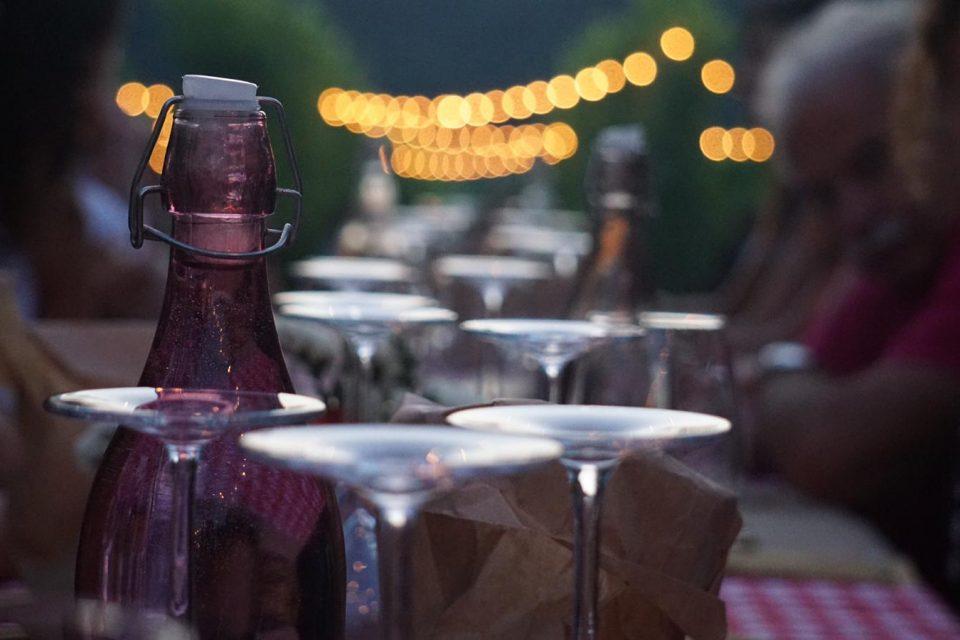 Cena in Vigna a La Mincana
