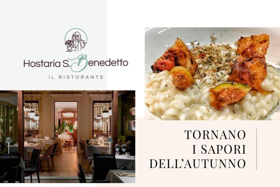 Al ristorante Hostaria San Benedetto di Montagnana, tornano i sapori dell'autunno