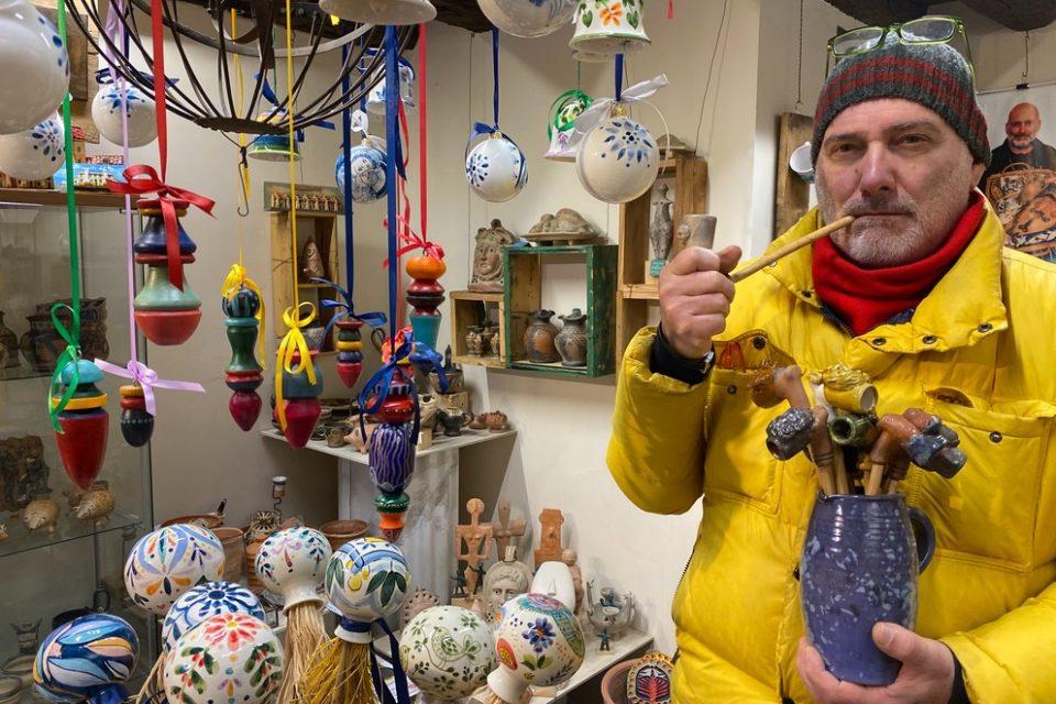 Alessandro Tieghi, artista e artigiano per amore della curiosità